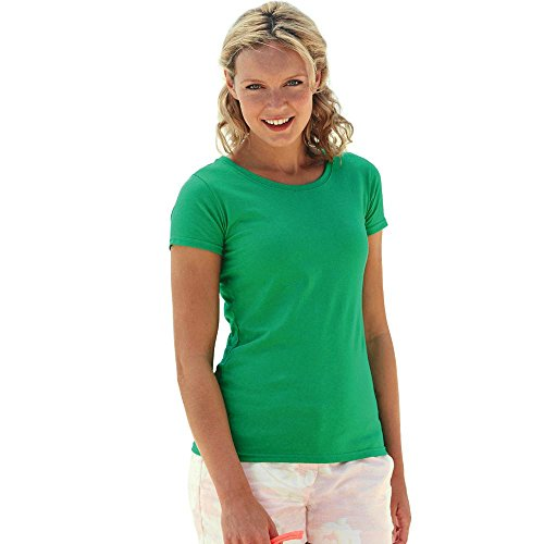 Fruit of the Loom - Lady-Fit Valueweight T - Modell 2013 XS,Black ... 7a4f5a303e