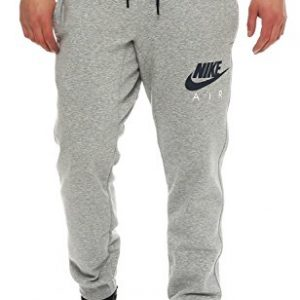 Nike-Air-AW77-Heritage-Fleece-Cuffed-Herren-Trainingshose-Farbe-Grau-Gre-L-0